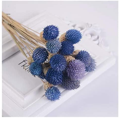 lliang Artificial Flowers 15pcs Dried Flower Bouquets Artificial Flower Colorful Strawberries Grass Flower Handmade Home Decor DIY Craft Flower (Farbe : Blue purple)