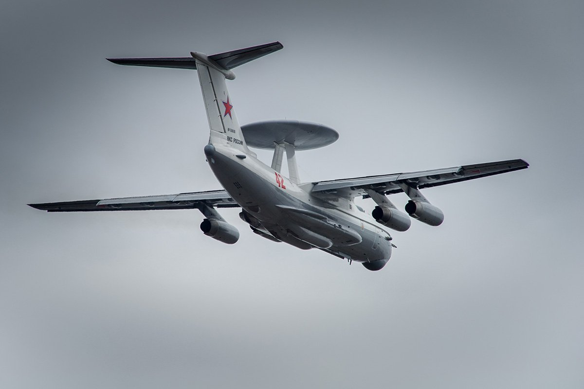 Russia deploys A-50 airborne early warning aircraft on western border