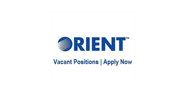 Orient Group of Companies Jobs Imports Officer