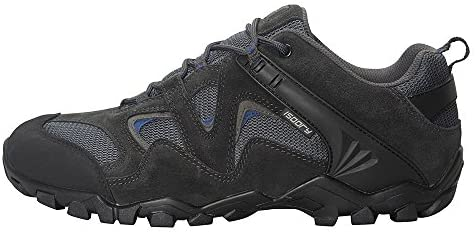 Mountain Warehouse Curlews Mens Waterproof Walking Shoes – Quick Drying Hiking Footwear, Suede & Mesh Outer Material Outdoor Shoes, Rubber Sole – Ideal for Camping, Hiking