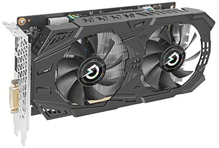 Riiai GeForce GTX 1060 3GB Graphics Card 192 Bit Video Graphics Cards Support DirectX 12 VR Ready OC Gaming Graphics Card with Dual Cooling Fans for Desktop PC Computer