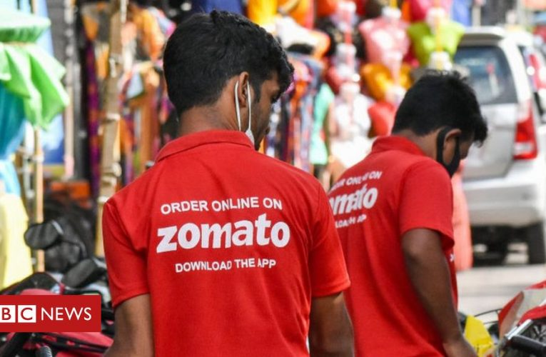 India Zomato: Shares of food delivery app soar 80% on market debut