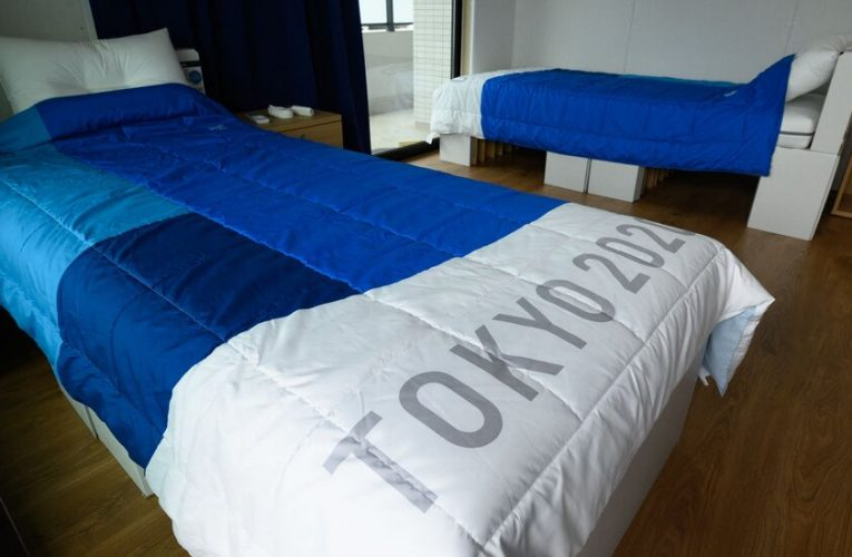 The beds at the Tokyo Olympics are cardboard. Counter to rumors, that's not a Covid precaution against sex.
