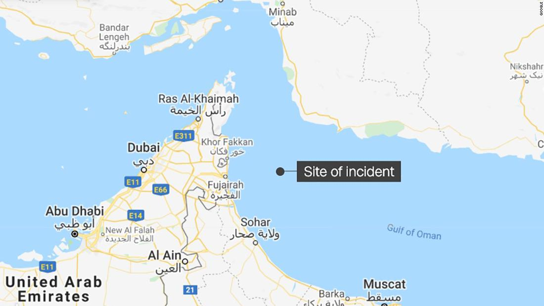 Potential hijacking of commercial vessel reported off UAE