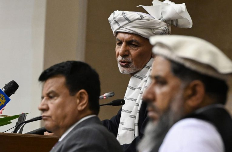 President Ghani calls on Afghanis to rise up against 'destructive' Taliban