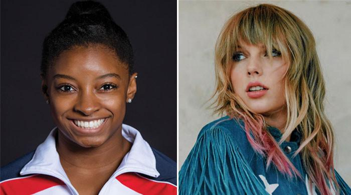 Taylor Swift and Simone Biles have a heartwarming Twitter exchange