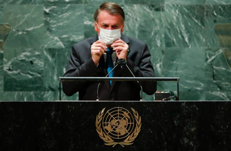 Anger in Brazil after Bolsonaro's wife gets vaccine during US trip