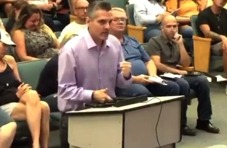 Parent tells school board that vaccines are Deep State conspiracy