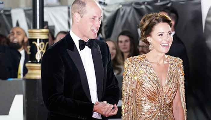 Prince William wore £400 shoes to 'No Time To Die' premier
