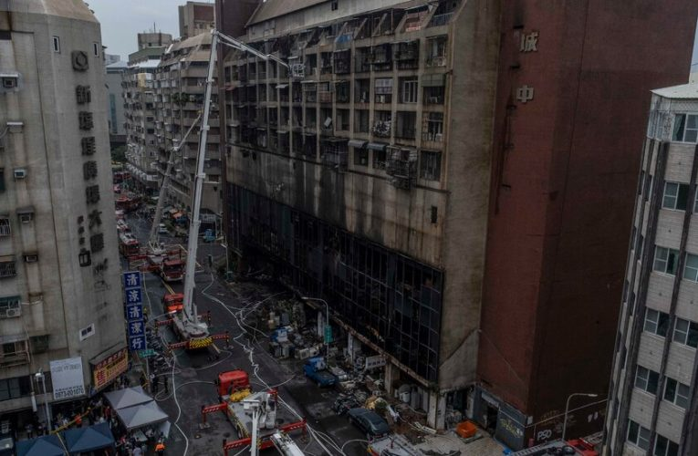 'It Was a Sea of Flames': At Least 46 Killed in Taiwan Apartment Fire