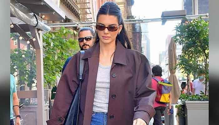 Kendall Jenner puts on a stylish display during her appearance in NYC