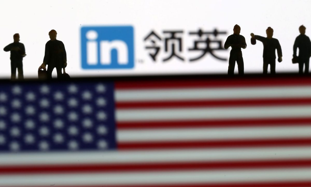 Microsoft is shutting down its LinkedIn website in China. Pic: Reuters