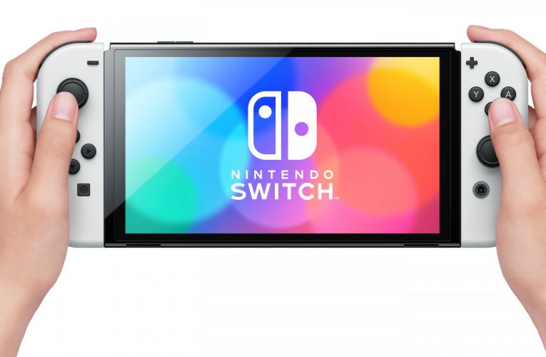 Nintendo launches new Switch with upgraded OLED screen