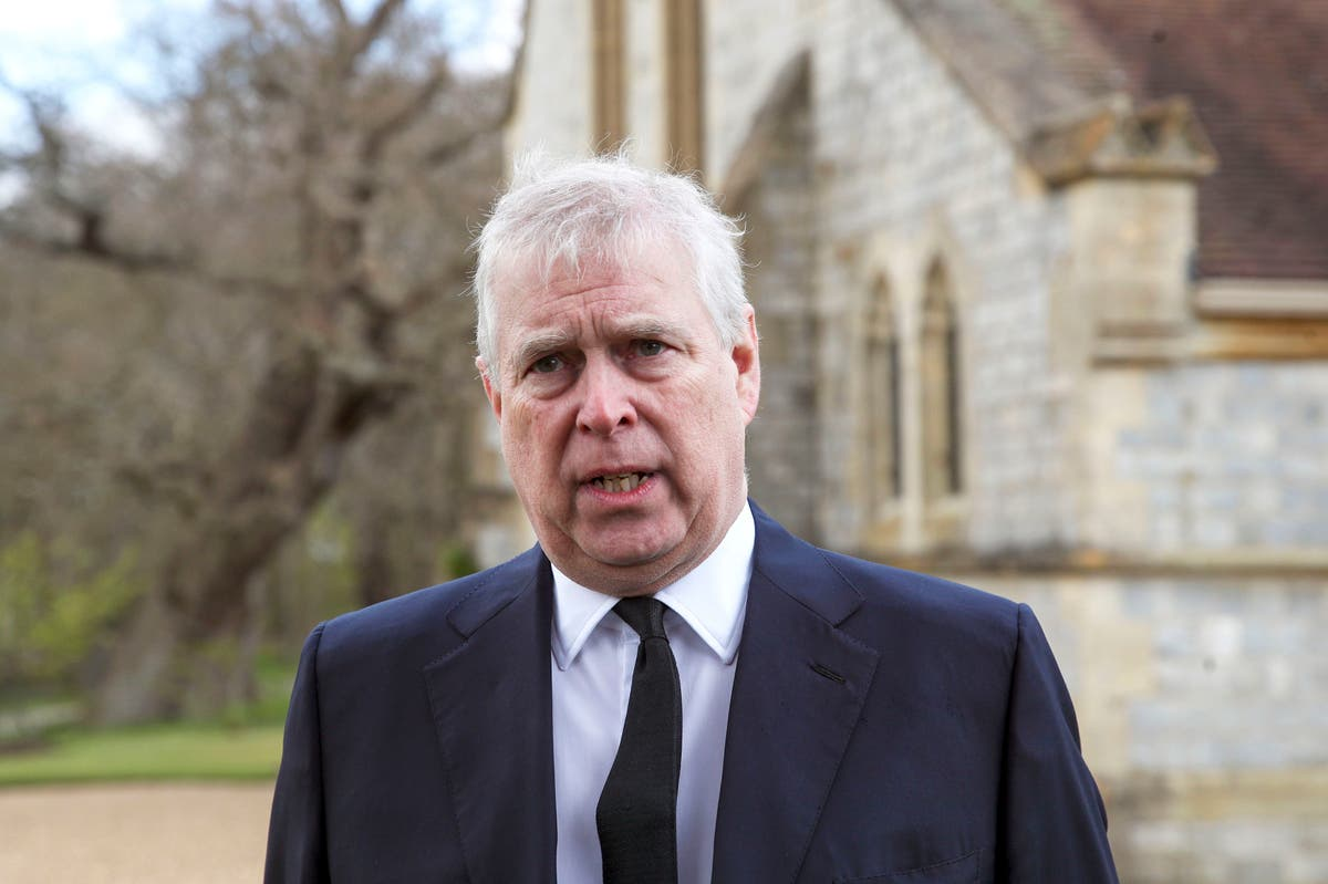 Prince Andrew's lawyer wants to keep 2009 legal deal sealed