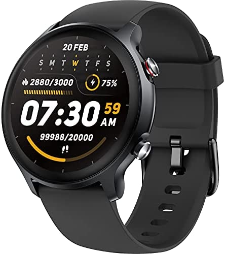 Smart Watch for Man Women, Fitness Tracker with Spo2 Monitor Fitness Watch 5ATM Waterproof Activity Tracker, Full Round Screen Smartwatches 14 Sports Modes Tracker Watch Compatible with IOS Android
