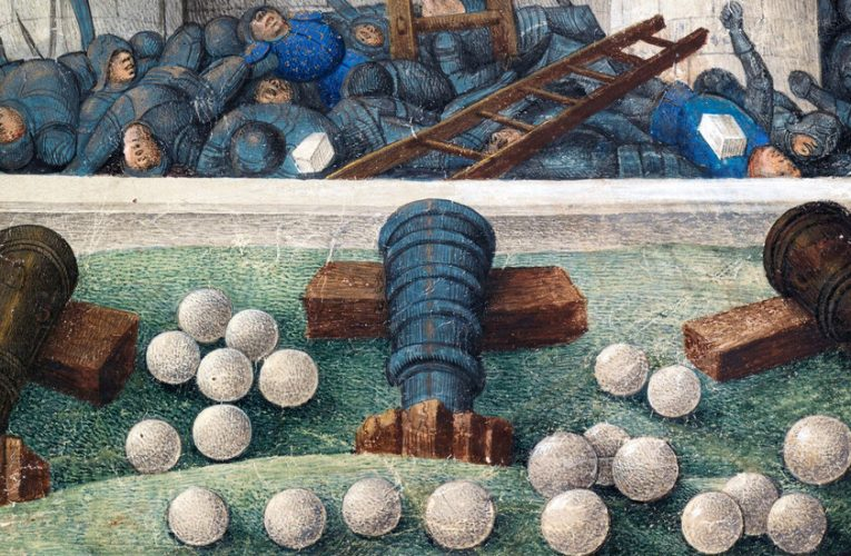 This Chemist's Pandemic Hobby? Firing Medieval Cannonballs.