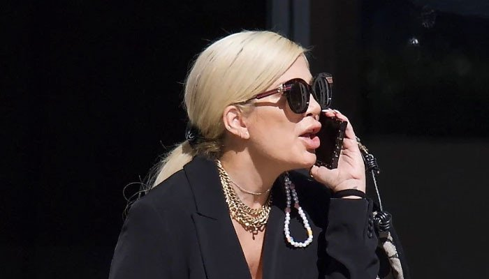 Tori Spelling caught 'throwing a fit' outside lawyer office amid custody brawl